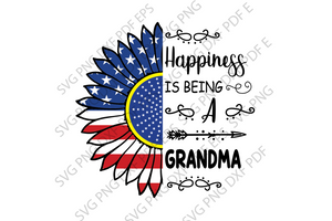 Being a grandma SVG,SVG Files For Silhouette, Files For Cricut, SVG, DXF, EPS, PNG Instant Download