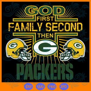 Green Bay Packers SVG,SVG Files For Silhouette, Files For Cricut, SVG, DXF, EPS, PNG Instant Download