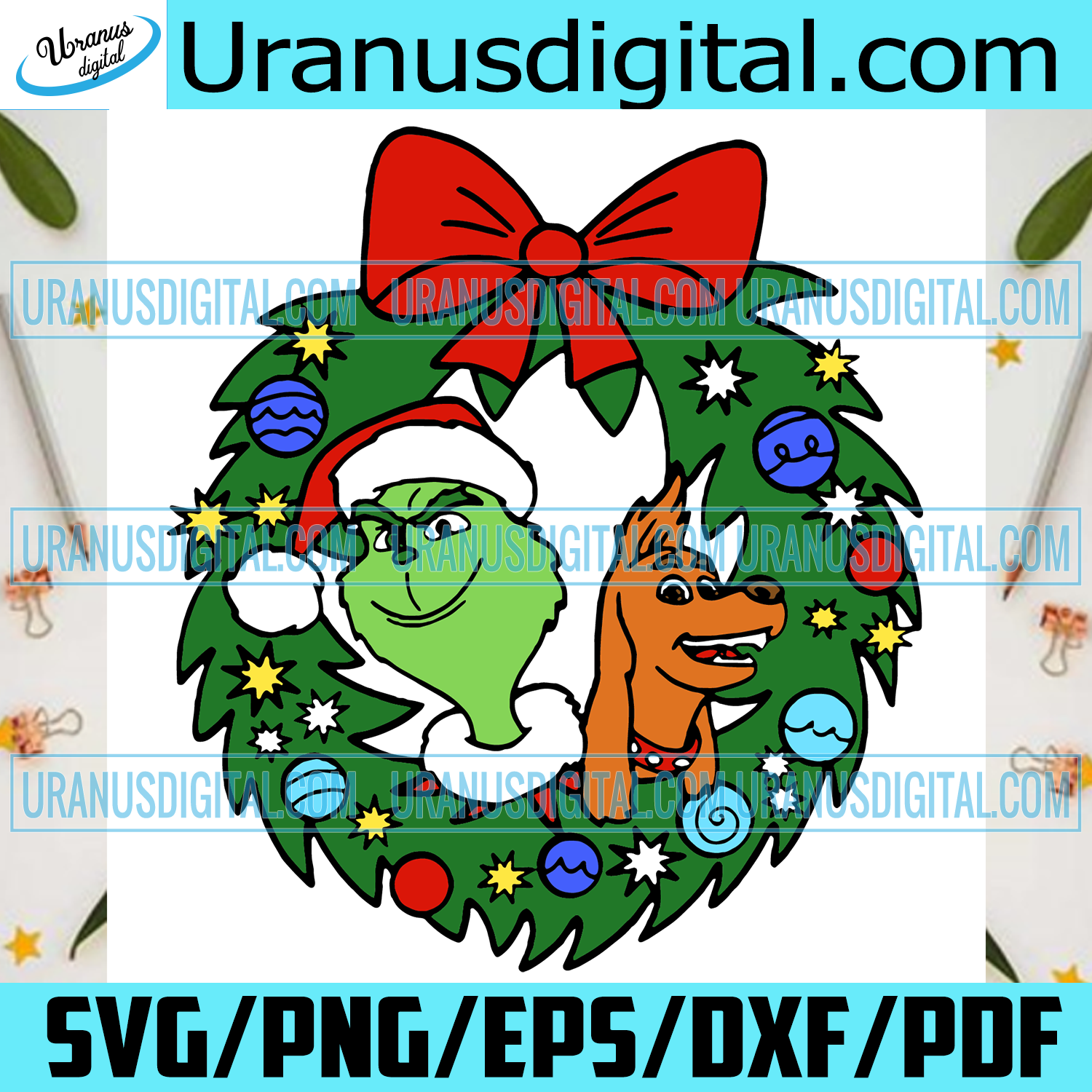 Grinch Max Christmas Wreath Svg, Christmas Svg, Grinch Svg, Xmas Svg, Merry Christmas, Christmas Grinch, Grinch Dog Svg, Christmas Gift, Christmas Wreath, Gricnh Wreath, Grinchmas, Grinch Gift