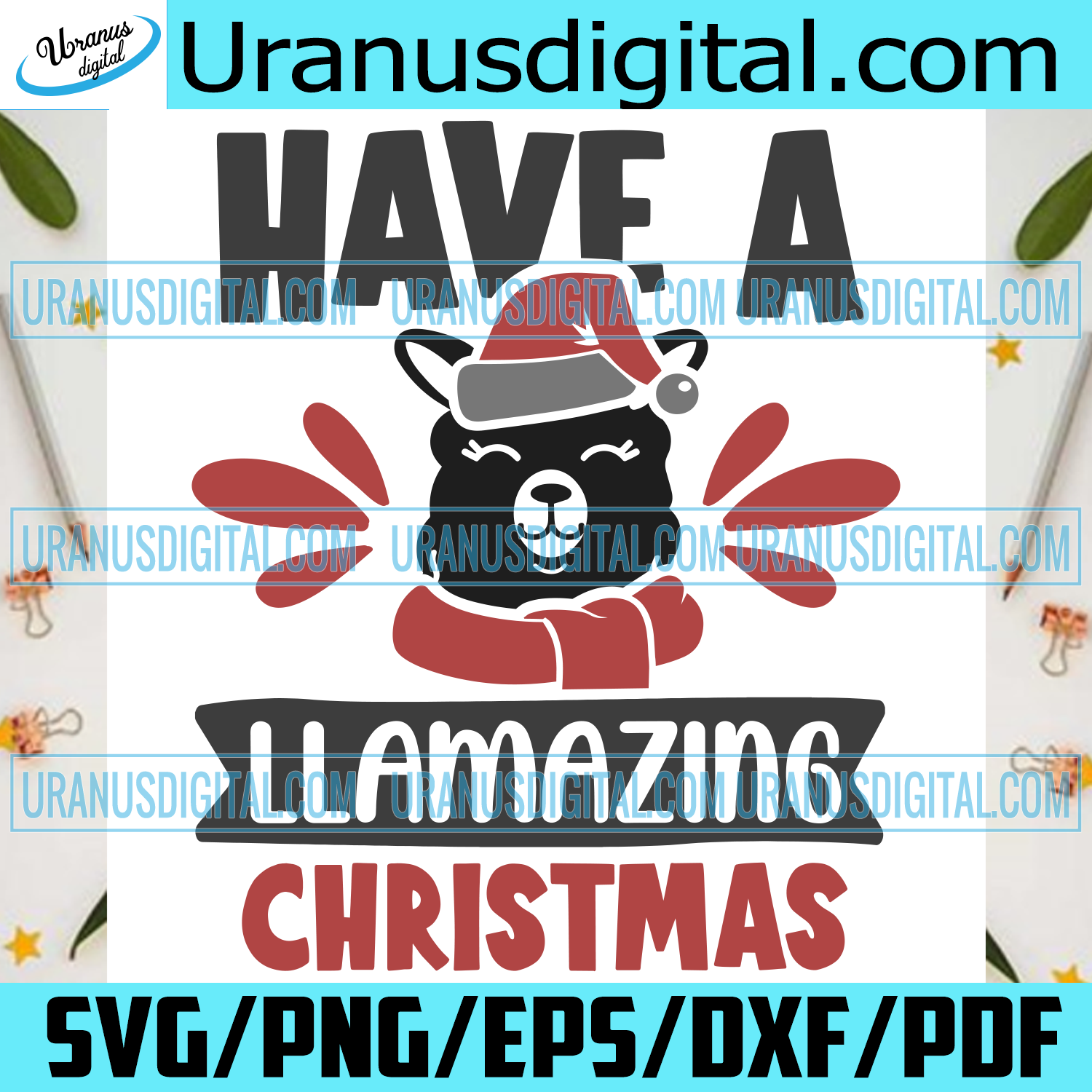 Have A Llamazing Christmas , Christmas Svg, Christmas day, Merry Christmas svg, llama, Xmas, Christmas lights, Christmas decorations, Christmas gift, Santa Claus svg, Santa Claus, Christmas decor, Snow, Christmas Time