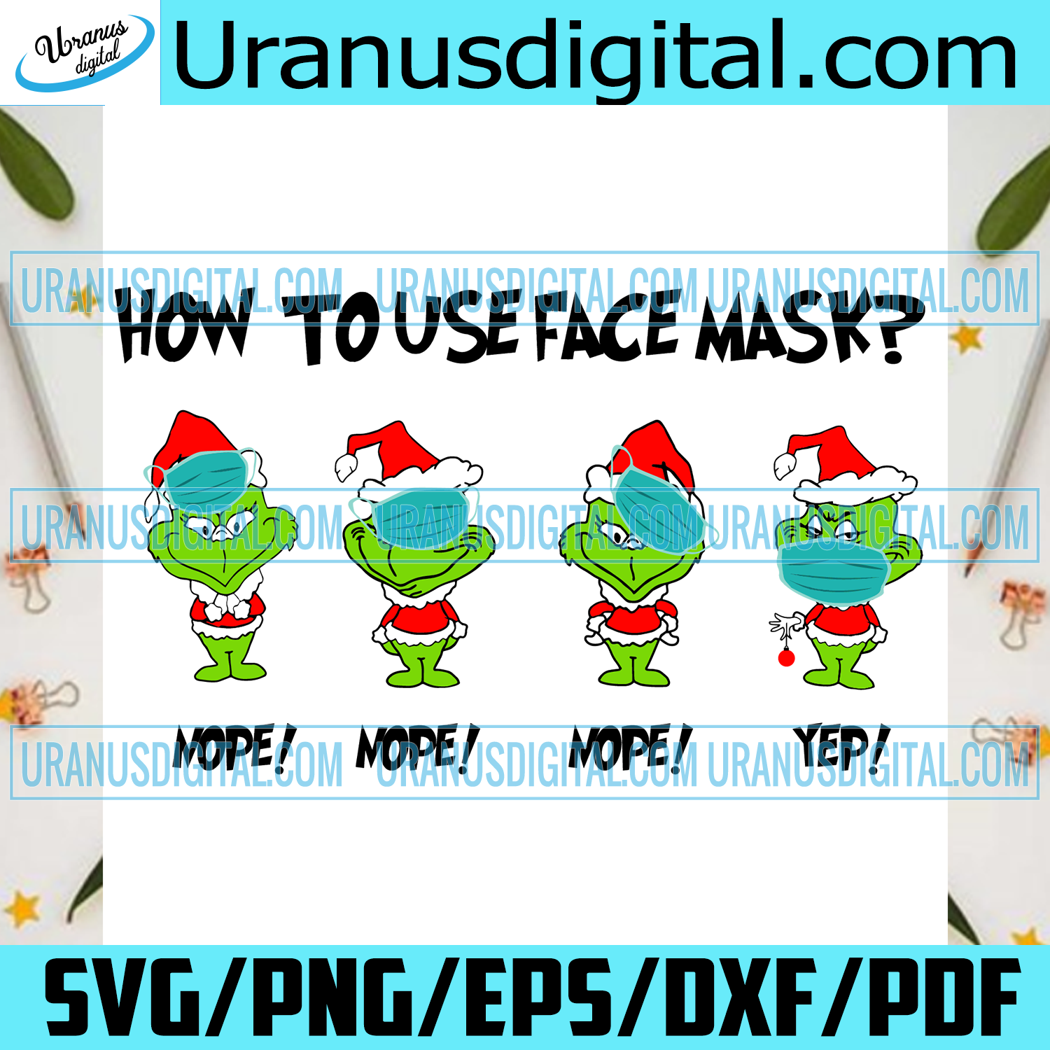 How To Use Face Mask Baby Grinch Svg, Christmas Svg, Xmas Svg, Merry Christmas, Christmas Gift, Grinch Svg, Baby Grinch, Cute Grinch, Wear Face Mask, Quarantine, Social Distance, Santa Grinch