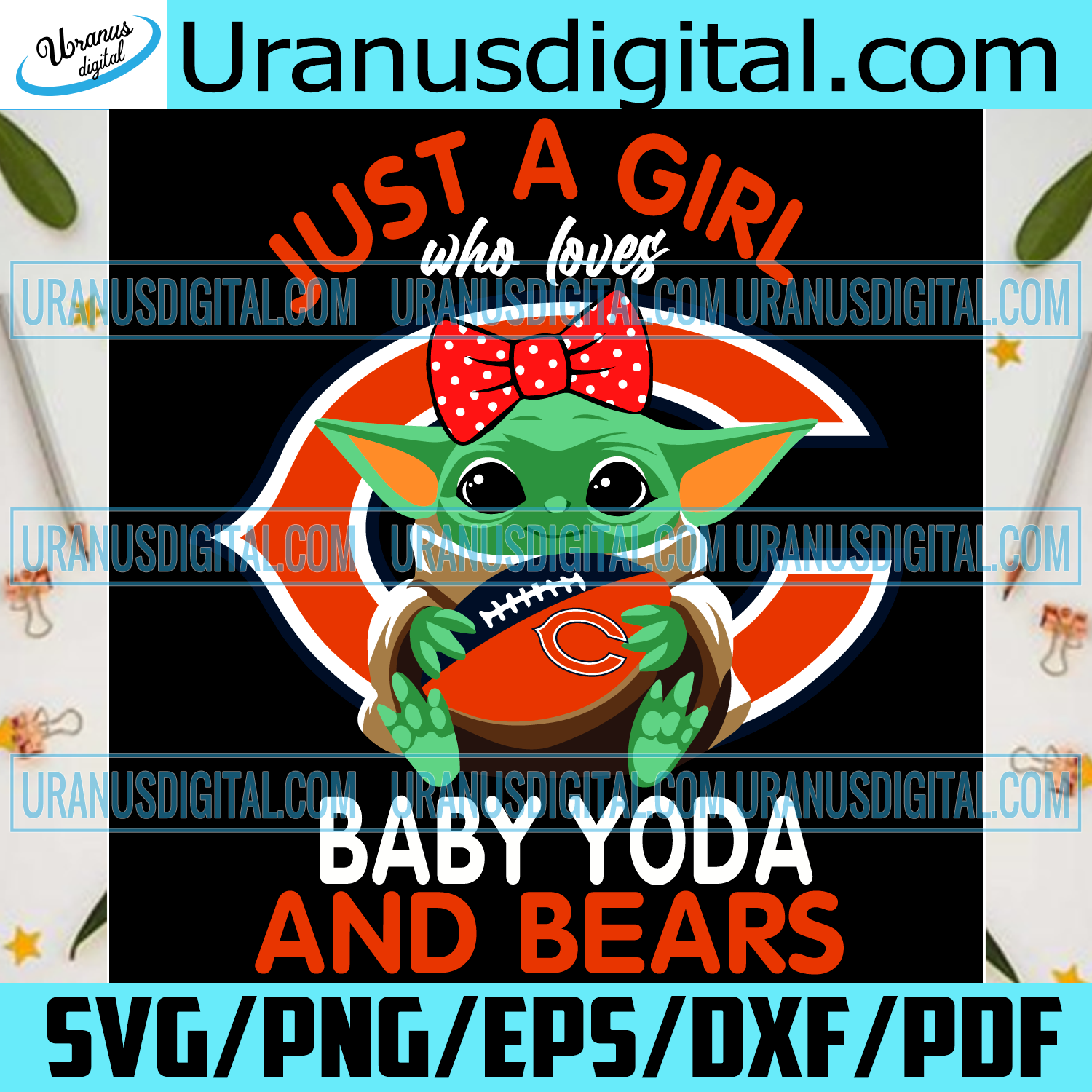 Just A Girl Who Loves Baby Yoda And Chicago Bears Svg, Sport Svg, Girl Svg, Baby Yoda Svg, Love Svg, Star Wars Svg, Chicago Bears Svg, Chicago Bears Logo Svg, Bears Svg, Bears Fans, Bears Football Svg, NFL Svg, Football Svg
