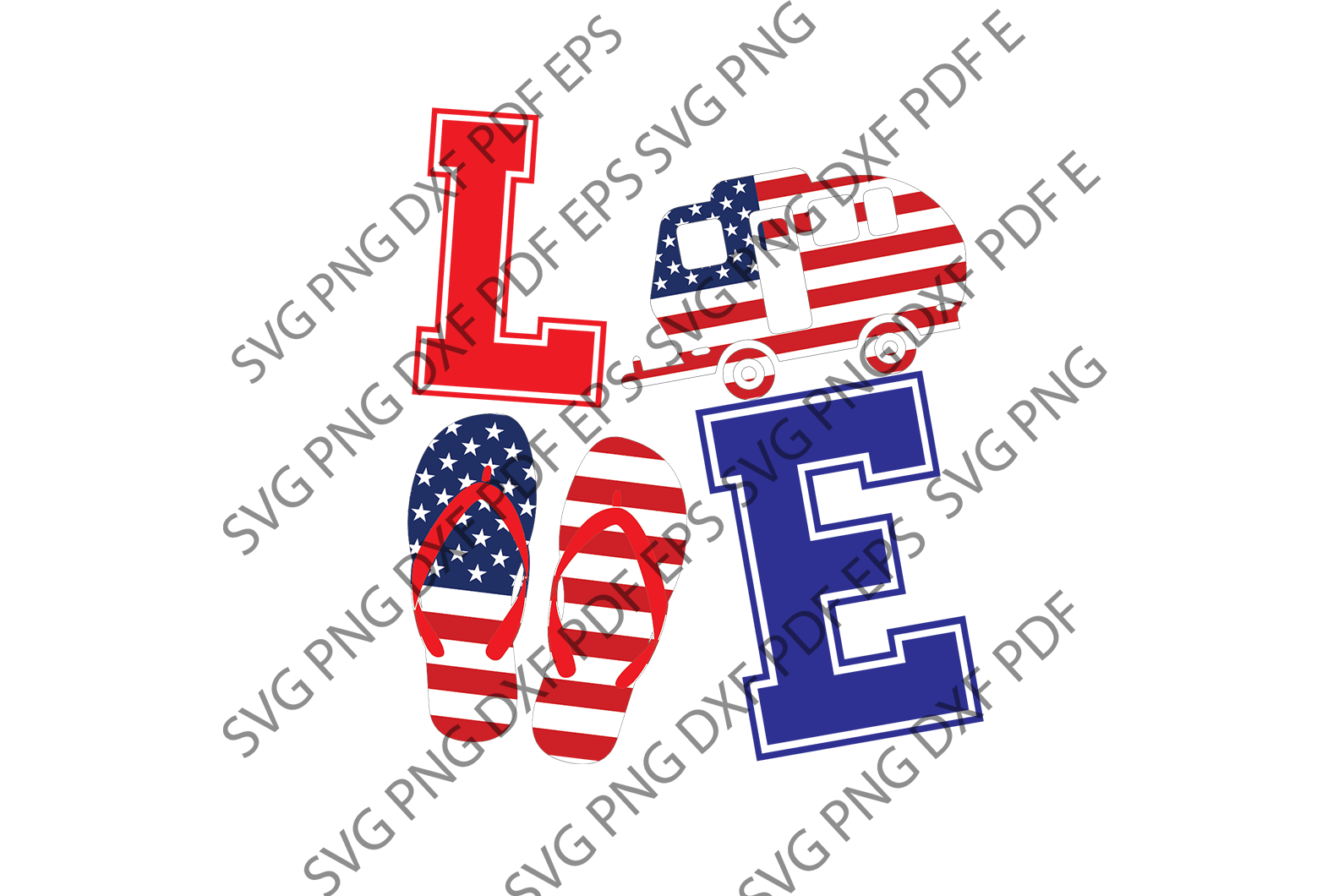 Love camping SVG,SVG Files For Silhouette, Files For Cricut, SVG, DXF, EPS, PNG Instant Download