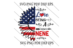 Love nene SVG,SVG Files For Silhouette, Files For Cricut, SVG, DXF, EPS, PNG Instant Download