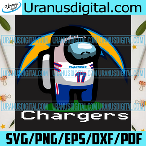 Los Angeles Chargers Among Us Svg, Sport Svg, Among Us Svg, Impostor Svg, Among Us Game Svg, Los Angeles Chargers Svg, Los Angeles Chargers Logo Svg, Chargers Svg, Chargers Team Svg, Chargers Fans, Chargers Football Svg