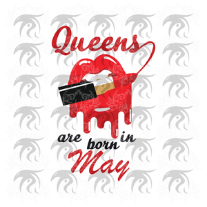 Queens are born in May, May girl svg, born in May , living my best life, May birthday, May girl shirt, May svg, May gift, May girl gifts, black girl svg, birthday svg, black lives matter