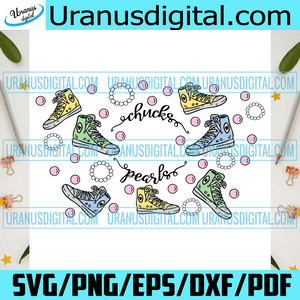 Starbucks Chucks And Pearls Full Wrap Svg, Trending Svg, Chucks Cup Wrap, Pearls Full Wrap, Chucks And Pearls, Starbucks Chucks, Chucks Pearls Cup, Starbucks Svg, Converse Chucks, Kamala Svg