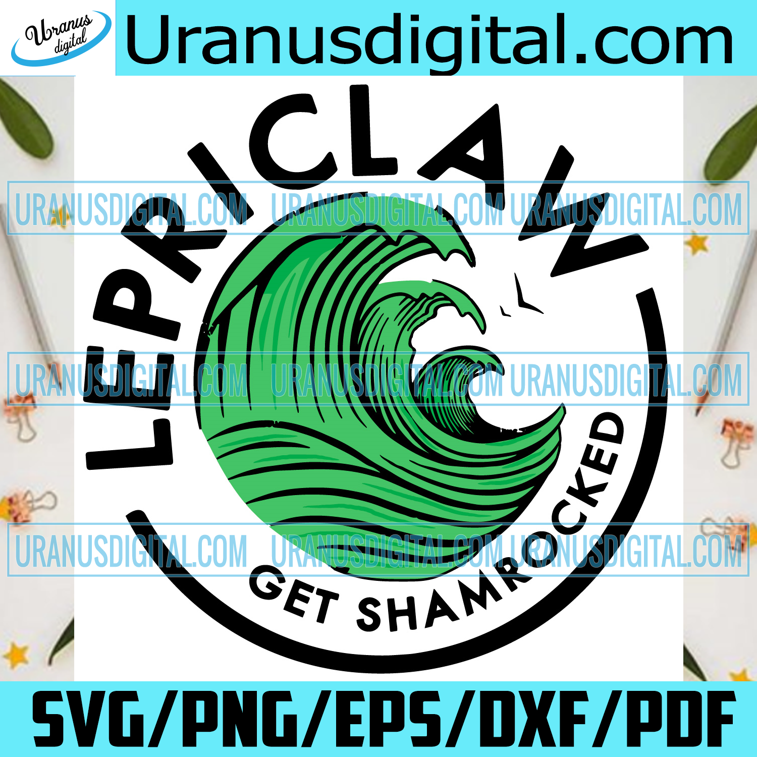 St Patricks Day Funny Lepriclaw St Pattys Day Svg, Patrick Svg, Svg, Lepriclaw Svg, Funny Lepriclaw Svg, Shamrocks Svg, Lucky Svg, Shamrocks Gifts Svg, Green Wave Svg, Waves Love Svg, Happy St Patrick Day Svg, Patrick Gifts Svg