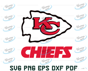 Kansas City Chiefs, kingdom svg,Chiefs svg, Files For Cricut, SVG, DXF, EPS, PNG Instant Download