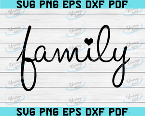 Family SVG - Blended Family SVG - Home svg -Our family svg-Gallery Wall Sign svg-Welcome to our Home svg