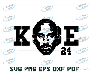 Kobe Bryant SVG PNG | Black Mamba svg pdf jpg eps files | Los Angeles lakers Vector | nba | cricut | lakers Cut | Silhouette | Cameo