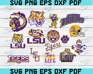 LSU Tigers, Football, College, Louisiana State University, Tigers