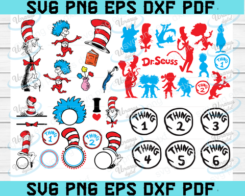 Dr.Seuss SVG BUNDLE, grinch svg, dr seuss svg, stranger things svg, dr suess, dr seuss,