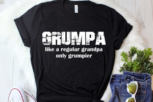 Grumpa svg, Grumpa like a regular Grandpa only Grumpier svg, Grandfarther SVG File, Grandpa SVG, GrandPapa Svg ,Cricut File, Silhouette svg