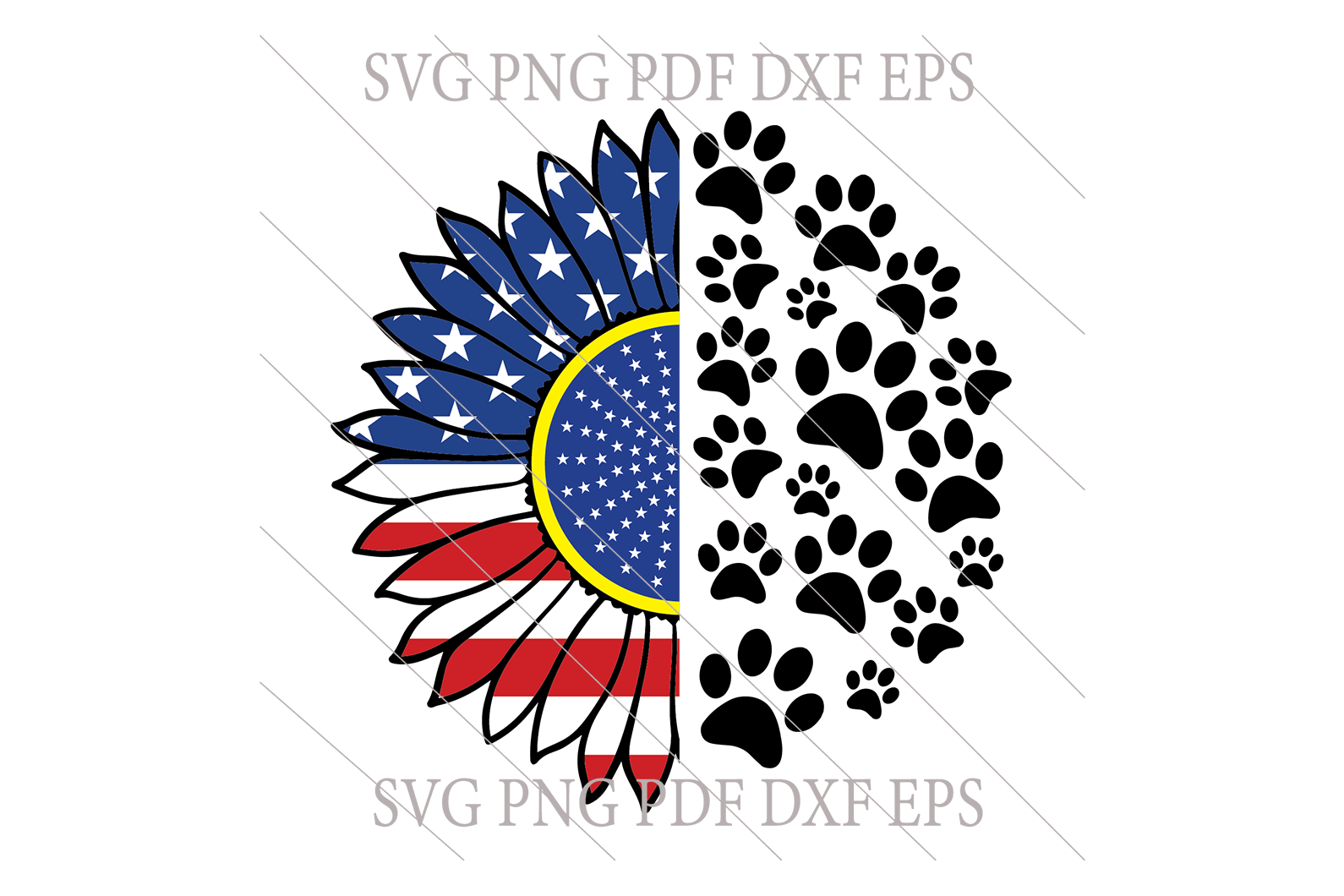 Grand paw dog SVG,SVG Files For Silhouette, Files For Cricut, SVG, DXF, EPS, PNG Instant Download