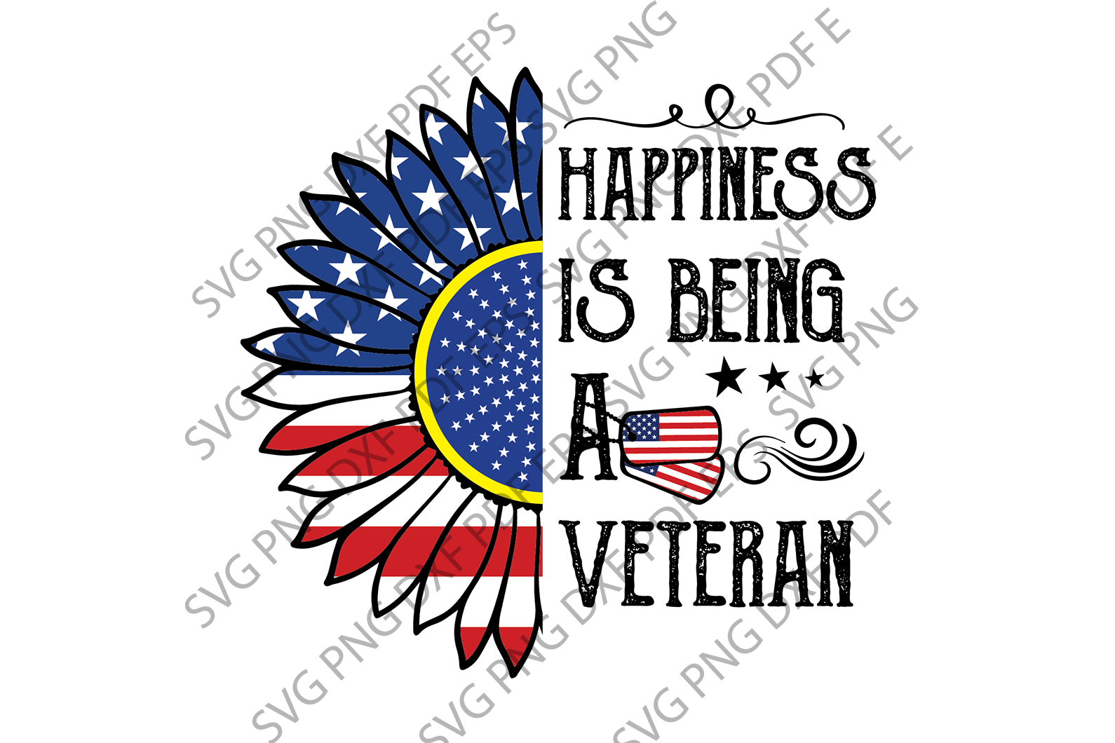 Veteran SVG,SVG Files For Silhouette, Files For Cricut, SVG, DXF, EPS, PNG Instant Download