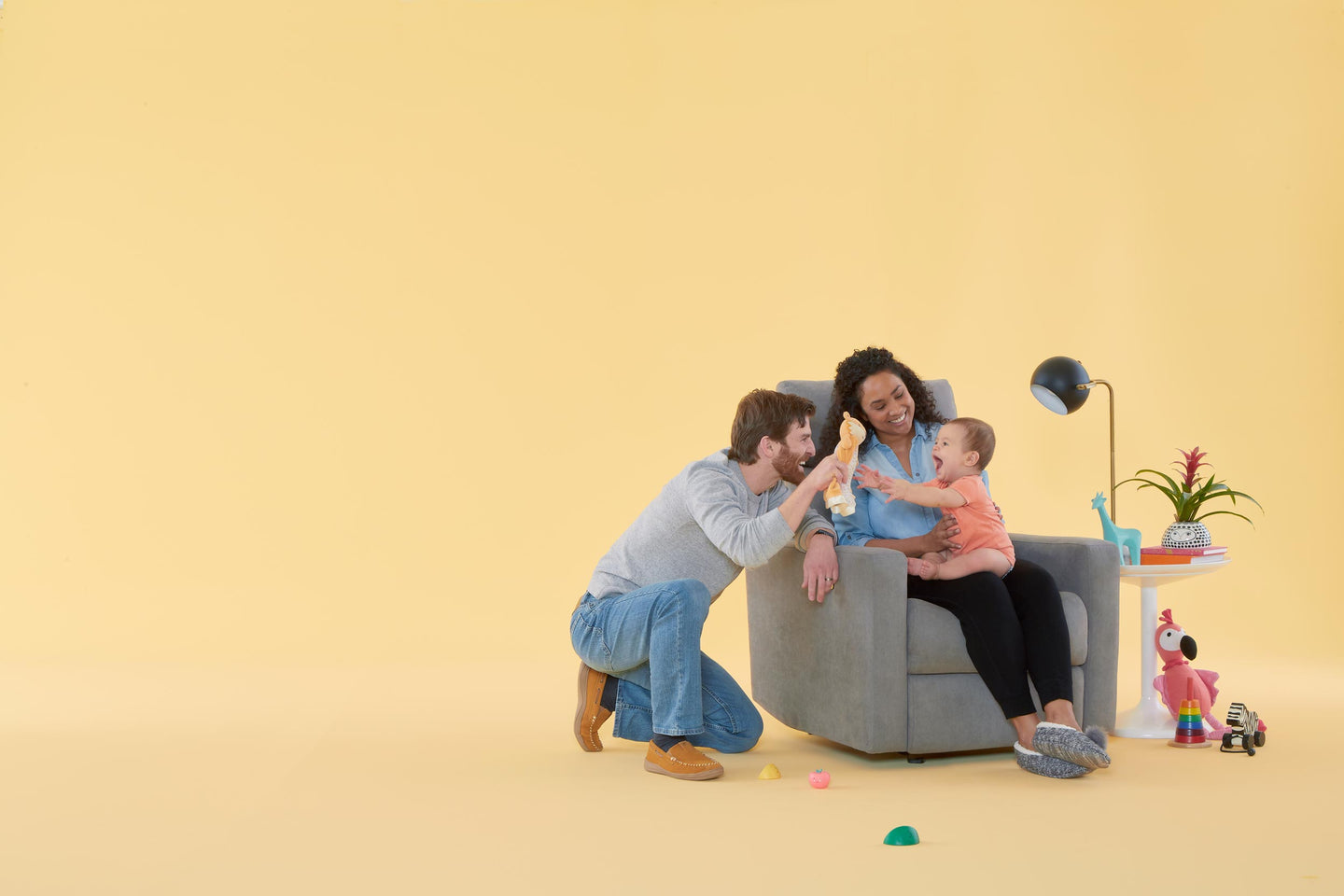 The Nursery Glider Made for Shared Moments