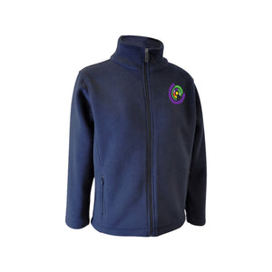 Fleece zip up jacket