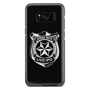 Live PD Badge Tough Phone Case