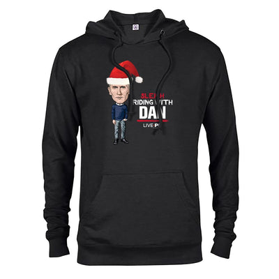 LivePD Sleigh Riding With Dan Lightweight Hooded Sweatshirt