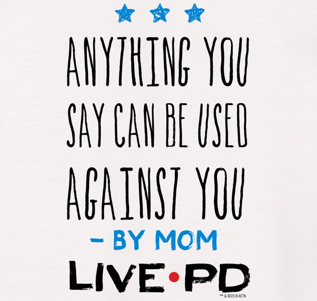 Live PD By Mom Kids Short Sleeve T-Shirt