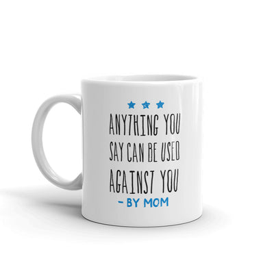 Live PD By Mom White Mug