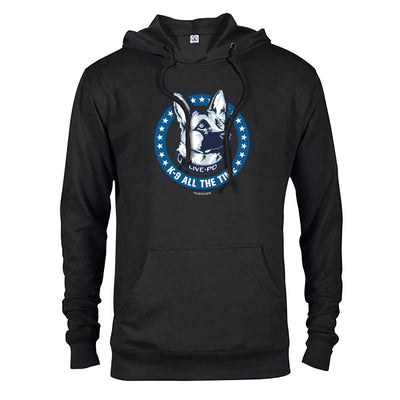 Live PD K9 All The Time Lightweight Hooded Sweatshirt