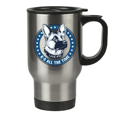 Live PD K9 All The Time Travel Mug
