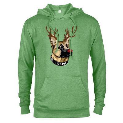LivePD K9 Rudolph Lightweight Hooded Sweatshirt