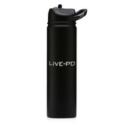 Live PD Logo Laser Engraved SIC Water Bottle