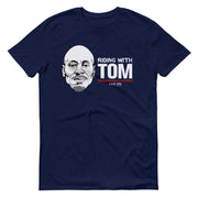 Live PD Riding with Tom Adult Short Sleeve T-Shirt