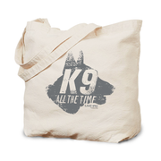 Live PD K9 Canvas Tote Bags