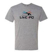 Live PD Siren Cop Car Men's Tri-Blend Short Sleeve T-Shirt