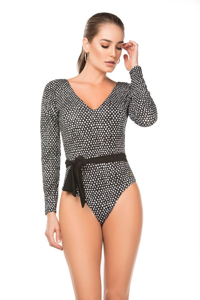 Naomi One Piece Polka Dots - Cassea Swim