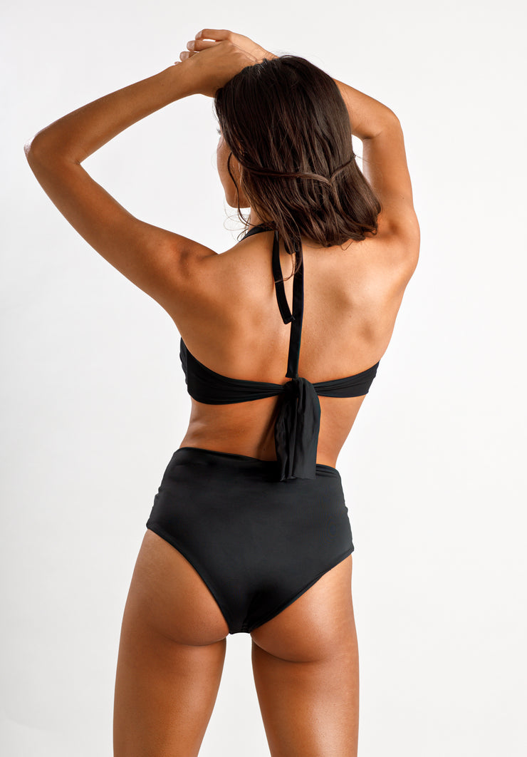 Andie High Waisted Bottoms - Cassea Swim