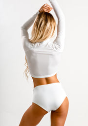 Sol Blanco High Waist Bottoms UV Protection