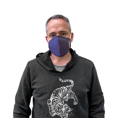 Cotton Reusable Mask w/ Filter - Import - JC Masks