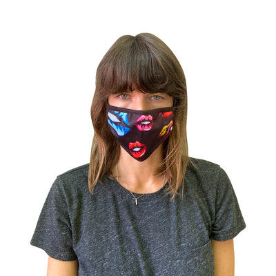 Full-Color Print Cotton Mask - Import - JC Masks