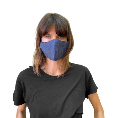 Tencel Denim Reusable Mask - JC Masks