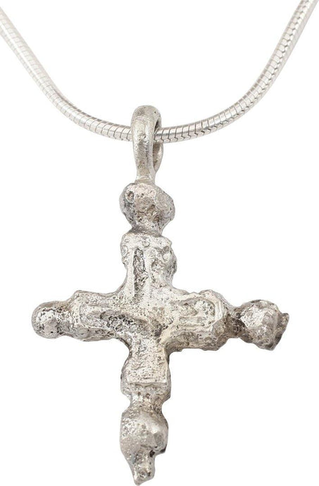 EARLY CHRISTIAN CROSS NECKLACE C.800-1000 AD