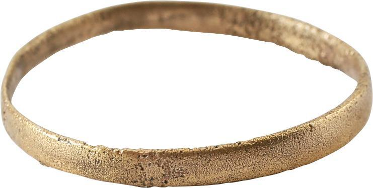ANCIENT VIKING WEDDING RING C.850-1050 AD SIZE 11 1/4