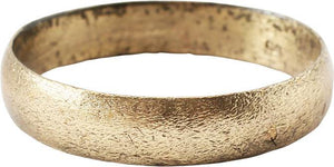 ANCIENT VIKING WEDDING RING C.850-1050 AD SIZE 11