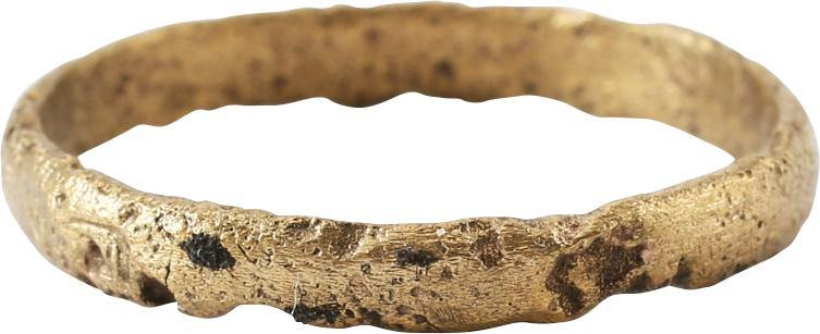 ANCIENT VIKING WEDDING RING C.850-1050 AD SIZE 10 ¾
