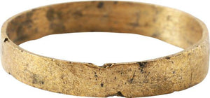 ANCIENT VIKING WEDDING RING C.850-1050 AD SIZE 10