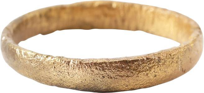 ANCIENT VIKING WEDDING RING C.850-1050 AD SIZE 5 ¾