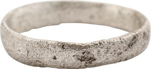 ANCIENT VIKING WEDDING RING C.850-1050 AD SIZE 5