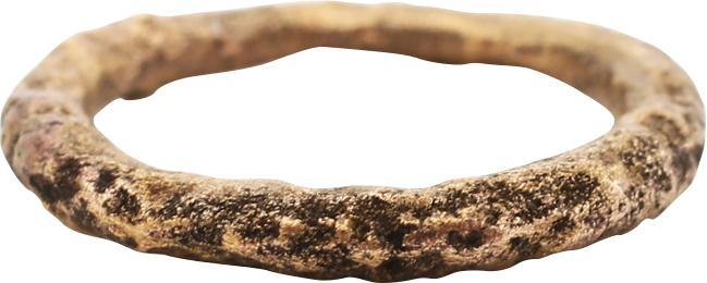 VIKING WARRIOR'S BEARD RING, 9th-11th CENTURY AD