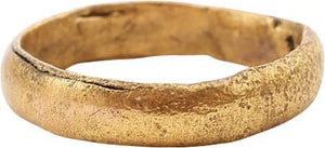 Rare Ancient Viking Mans Beard Ring C. 900-1050AD. Norse Gift Artifact