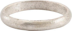 ANCIENT VIKING WEDDING RING C.850-1050 AD SIZE 10 3/4