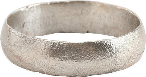 ANCIENT VIKING WEDDING RING C.850-1050 AD SIZE 8 1/4